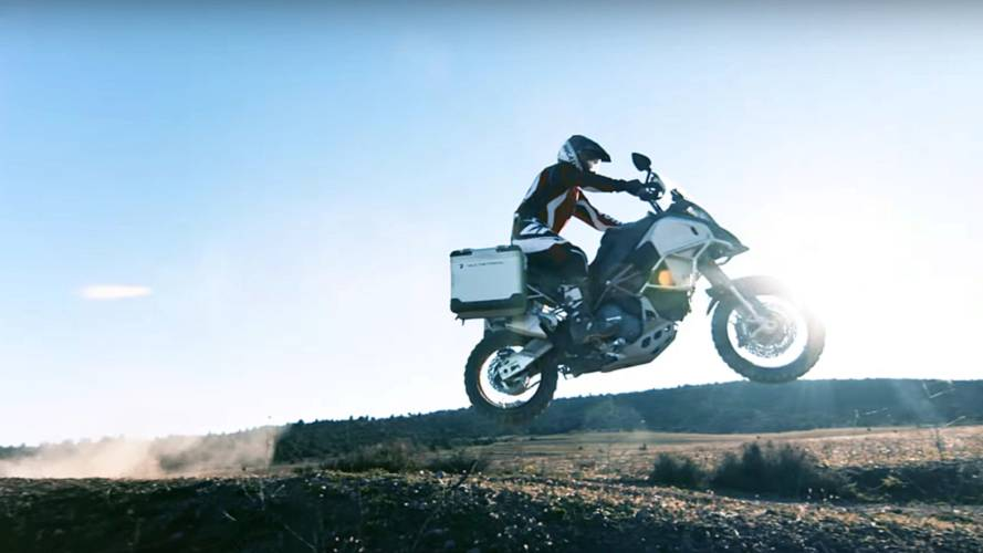 Ducati Multistrada 1200 Enduro Shows Its Wild Side - Video