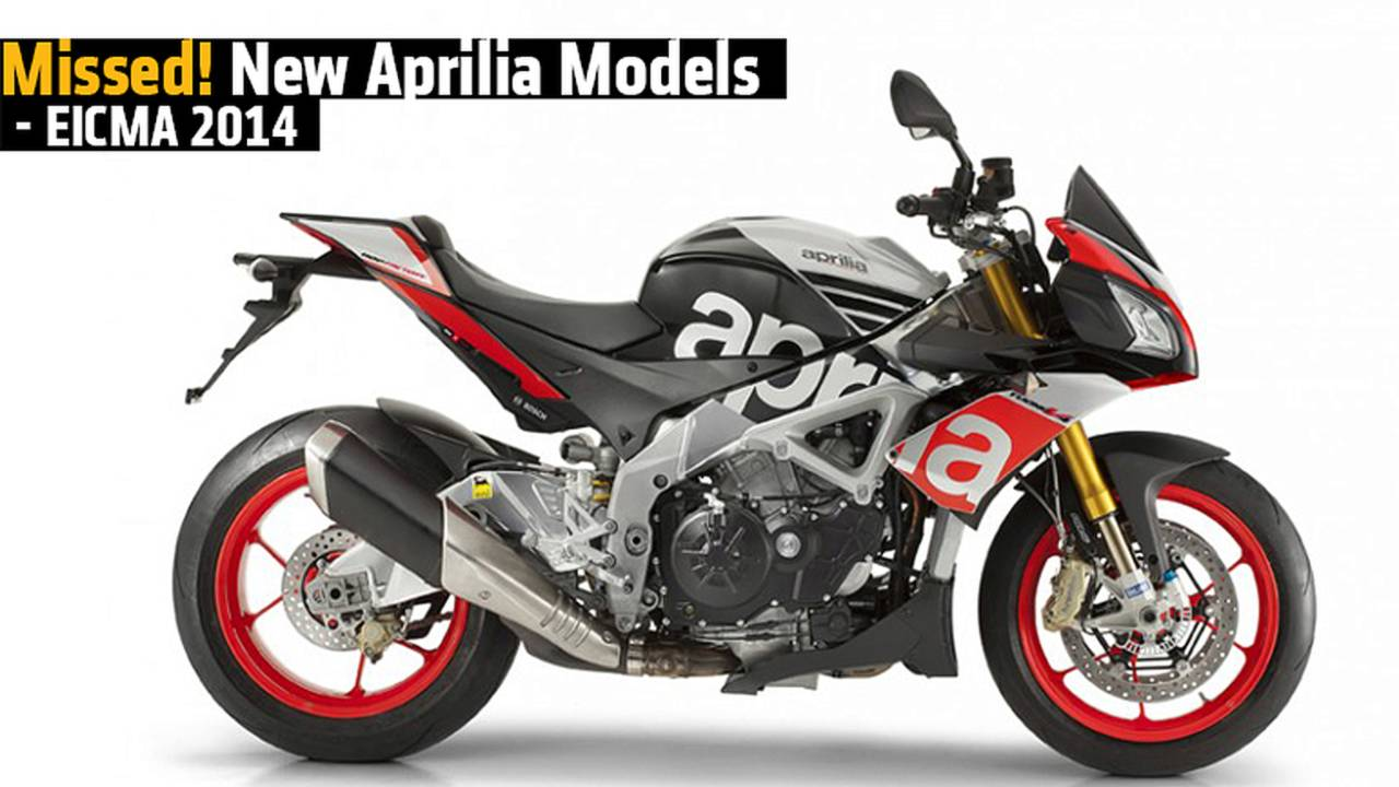 New Aprilia Models - EICMA 2014