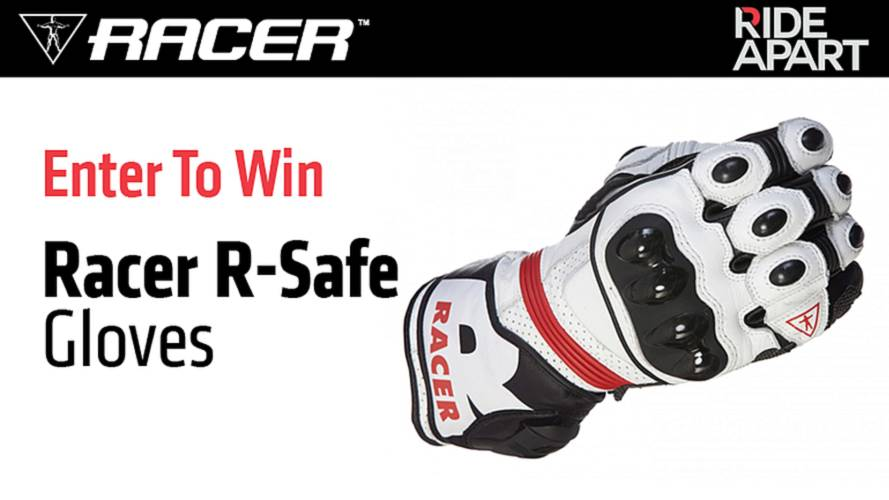 Enter To Win Racer R-Safe Motorcycle Gloves