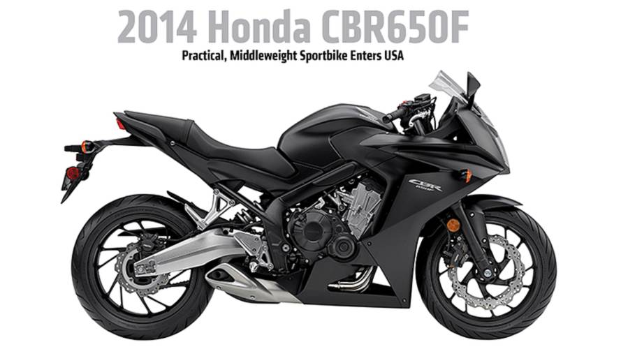 2014 Honda CBR650F: New Middleweight Sportbike