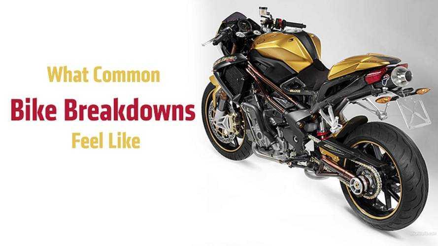 What Common Bike Breakdowns Feel Like