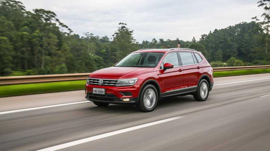 SUVs mais vendidos em agosto: Tiguan e Trailblazer registram recordes
