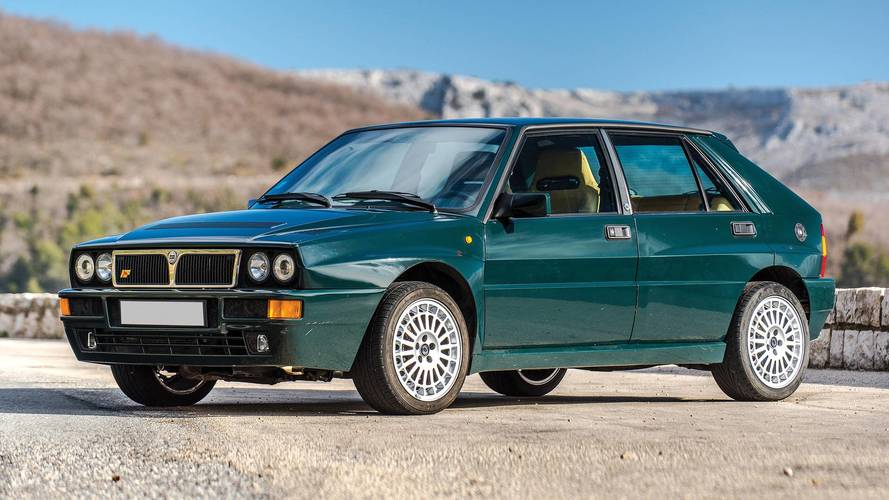 Sale a subasta un increíble Lancia Delta HF Integrale de color Verde York