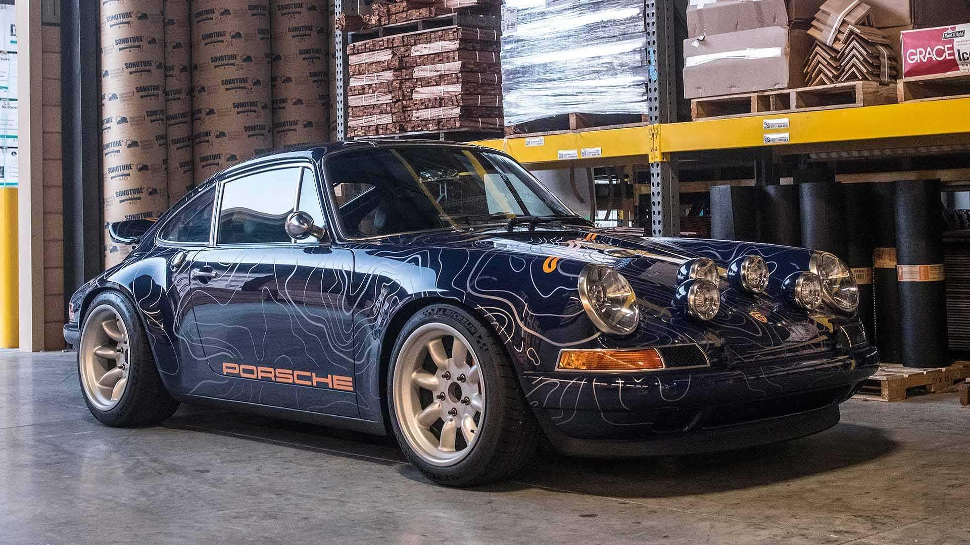 Singer Reimagines Porsche 911 As 1970s Canyon Carver