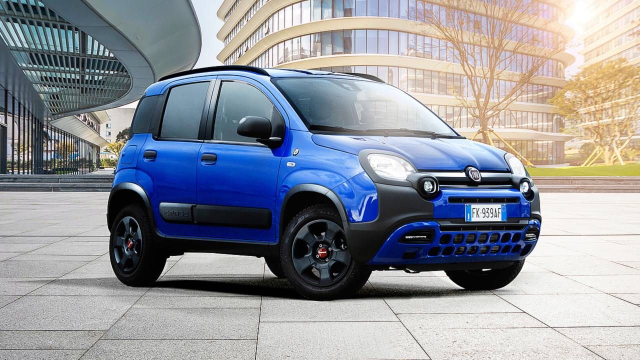 une s rie sp ciale waze pour la fiat panda city cross. Black Bedroom Furniture Sets. Home Design Ideas