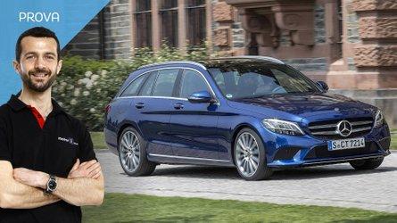 Mercedes Classe C, il diesel 2.0 le dona, l'elettronica rassicura