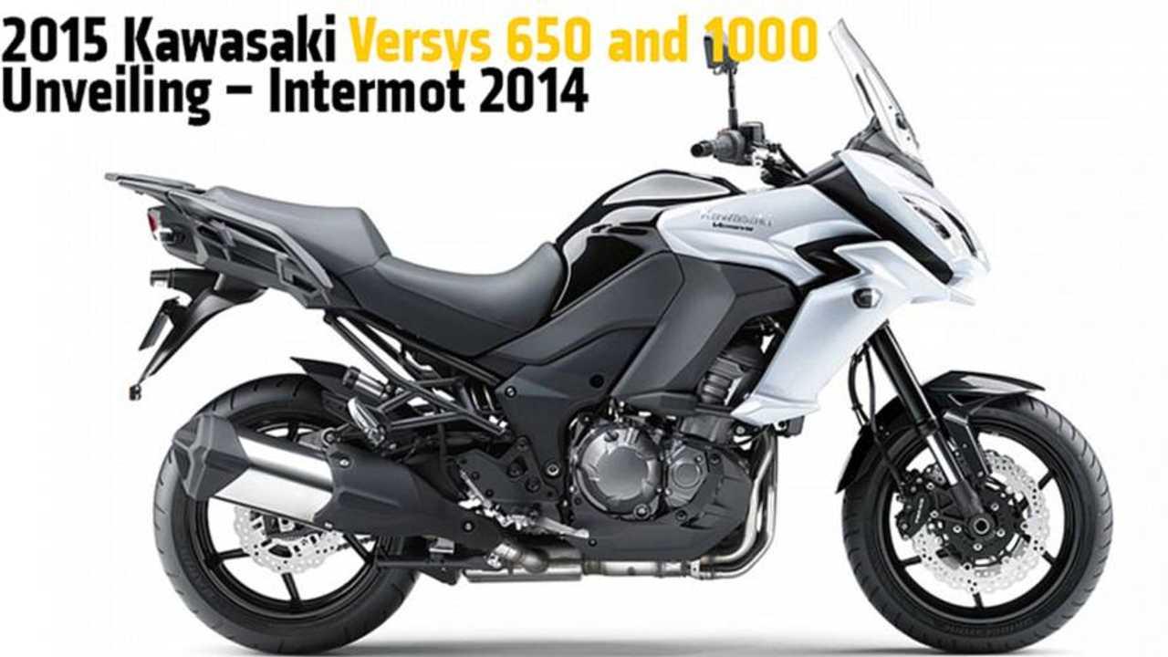 2015 Kawasaki Versys 650 and 1000 Unveiling - Intermot 2014