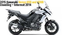 2015 kawasaki versys 650 and 1000 unveiling intermot 2014