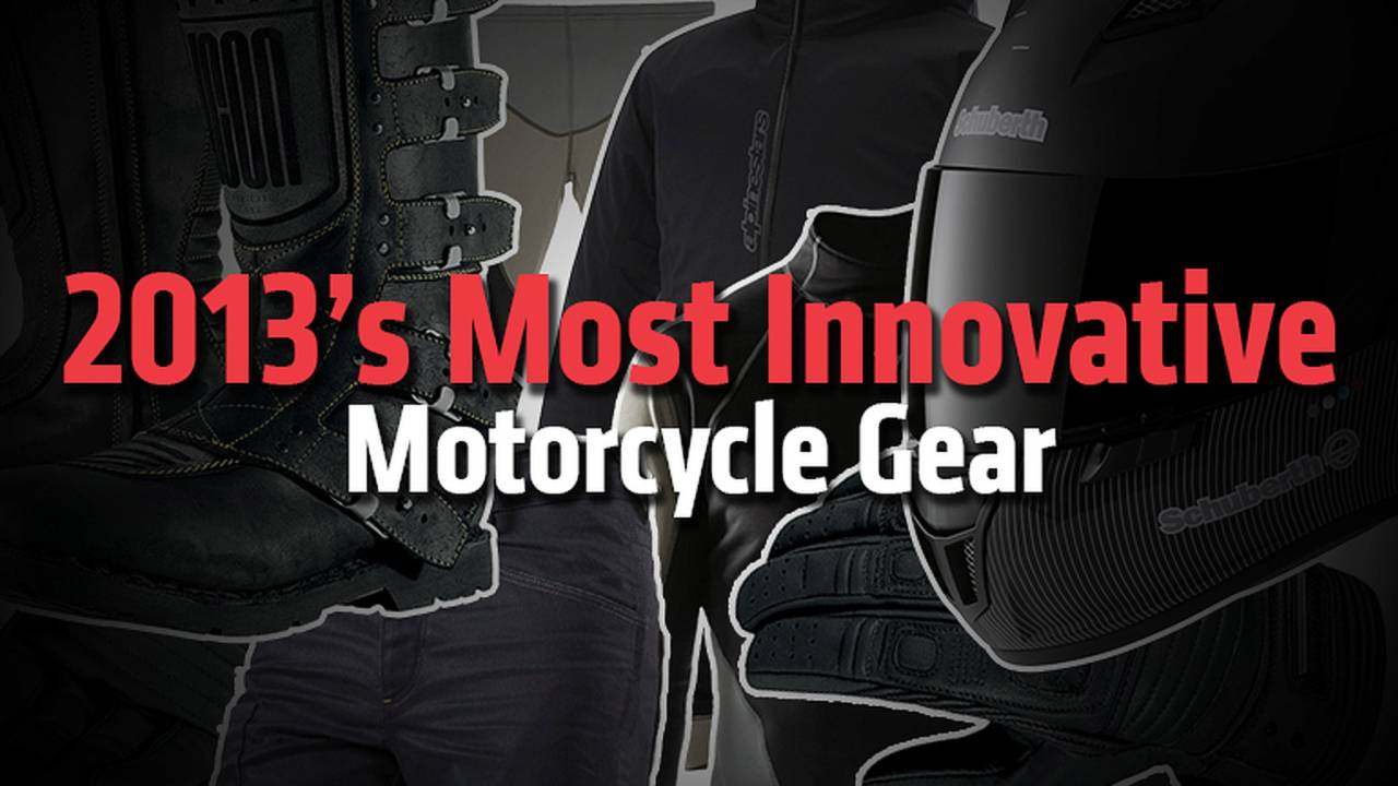2013's Most Innovative Motorcycle Gear