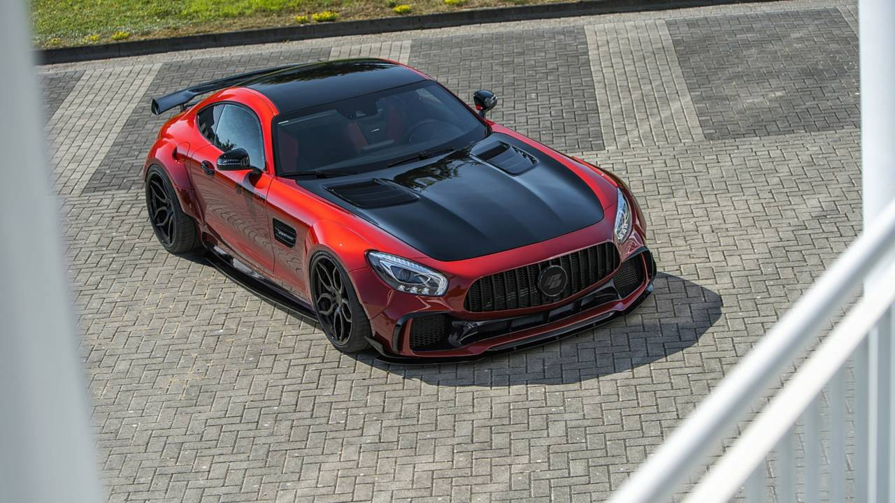 Gallery Mercedes Amg Gt S By Prior Design