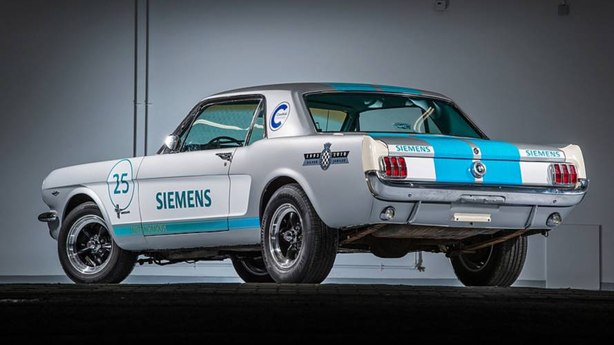 Autonomous 1965 Ford Mustang At Goodwood