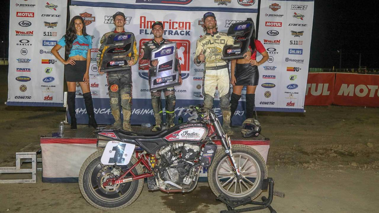Indian Eats Everyone's Lunch Once Again at Lima Half-Mile