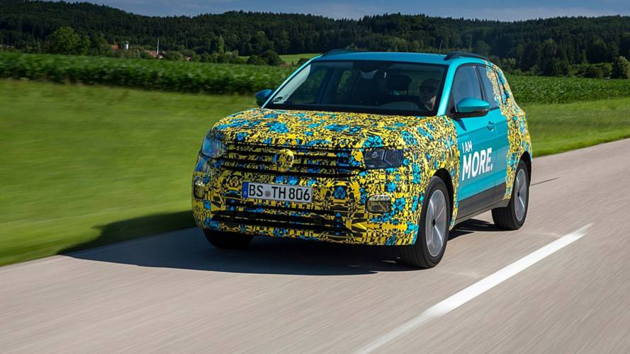 VW T-Cross als offizieller Erlkönig