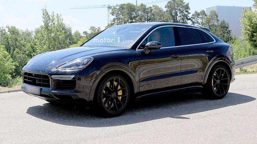 Fotos espía Porsche Cayenne Coupé 2019