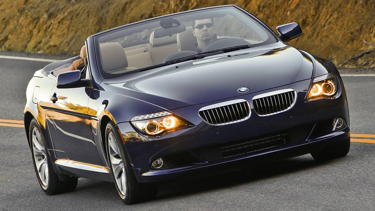 7. BMW 6 Series Convertible – 7,692 miles