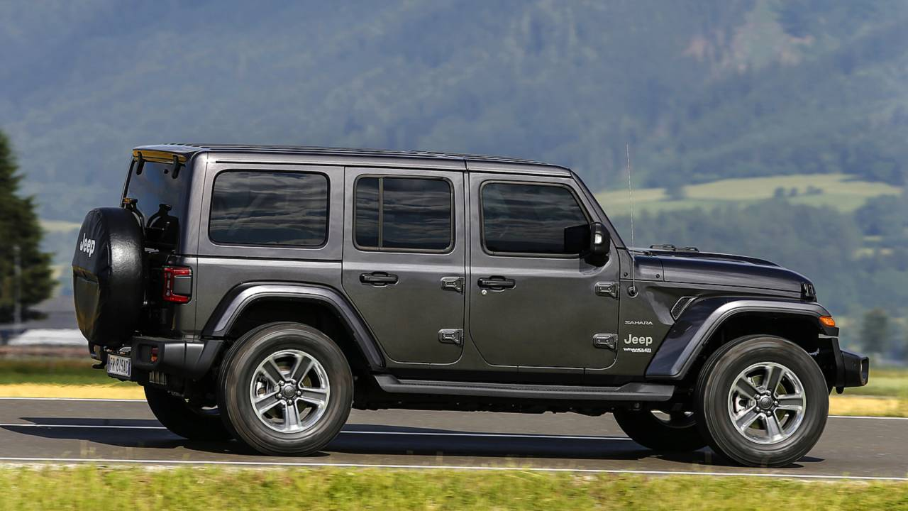 Jeep Wrangler Sahara Unlimited