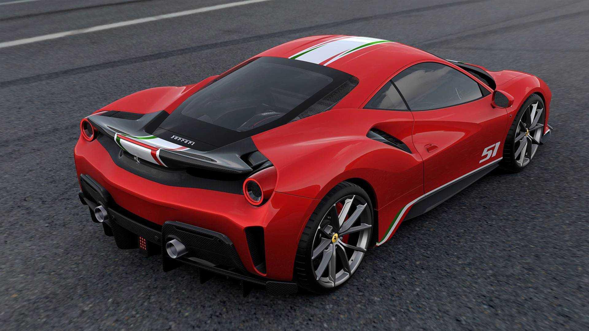 Ferrari 488 Pista Piloti Ferrari 2018 Sondermodell In Vier Farben