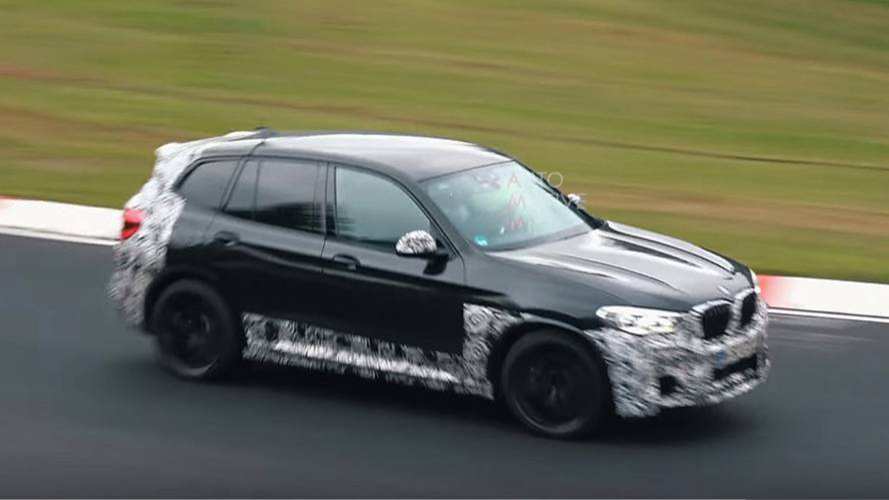 2019 BMW X3 M'in yeni casus videosu ortaya çıktı