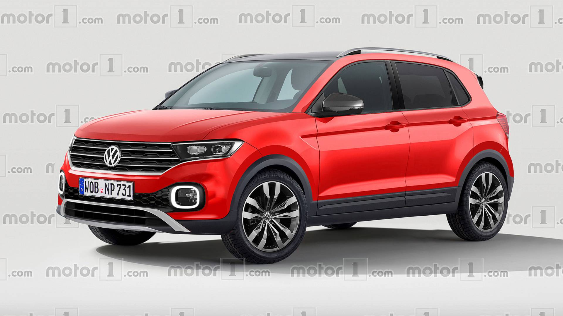Vw T Cross >> Vw T Cross Render Imagines The Cutest Polo Crossover