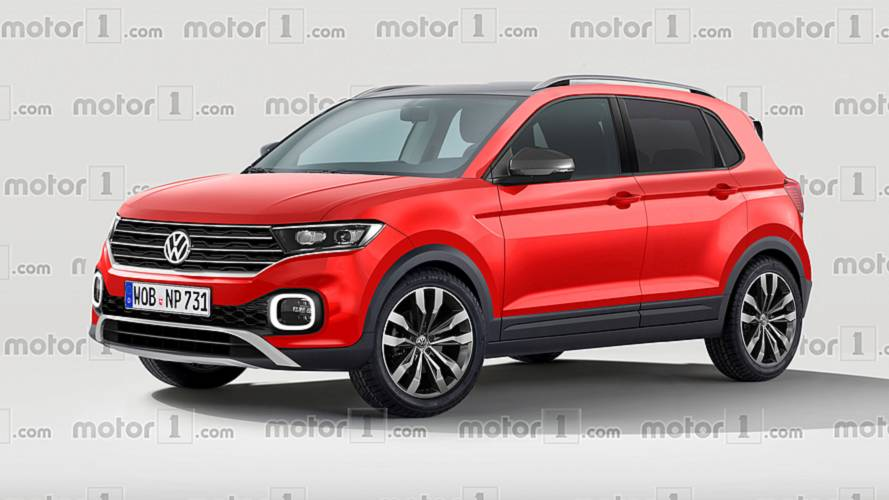 VW T-Cross render imagines the cutest Polo crossover