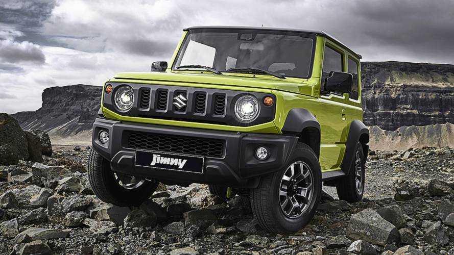 Nuova Suzuki Jimny, è nuovo anche il motore