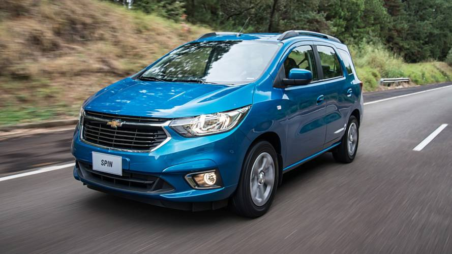 Chevrolet Spin 2019 é lançada com preço inicial de R$ 63.990