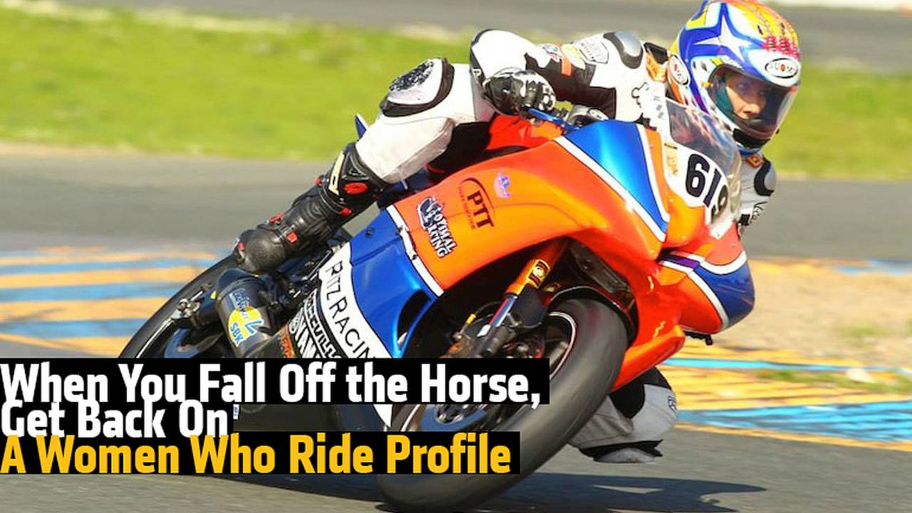 When You Fall Off the Horse, Get Back On: A Women Who Ride Profile