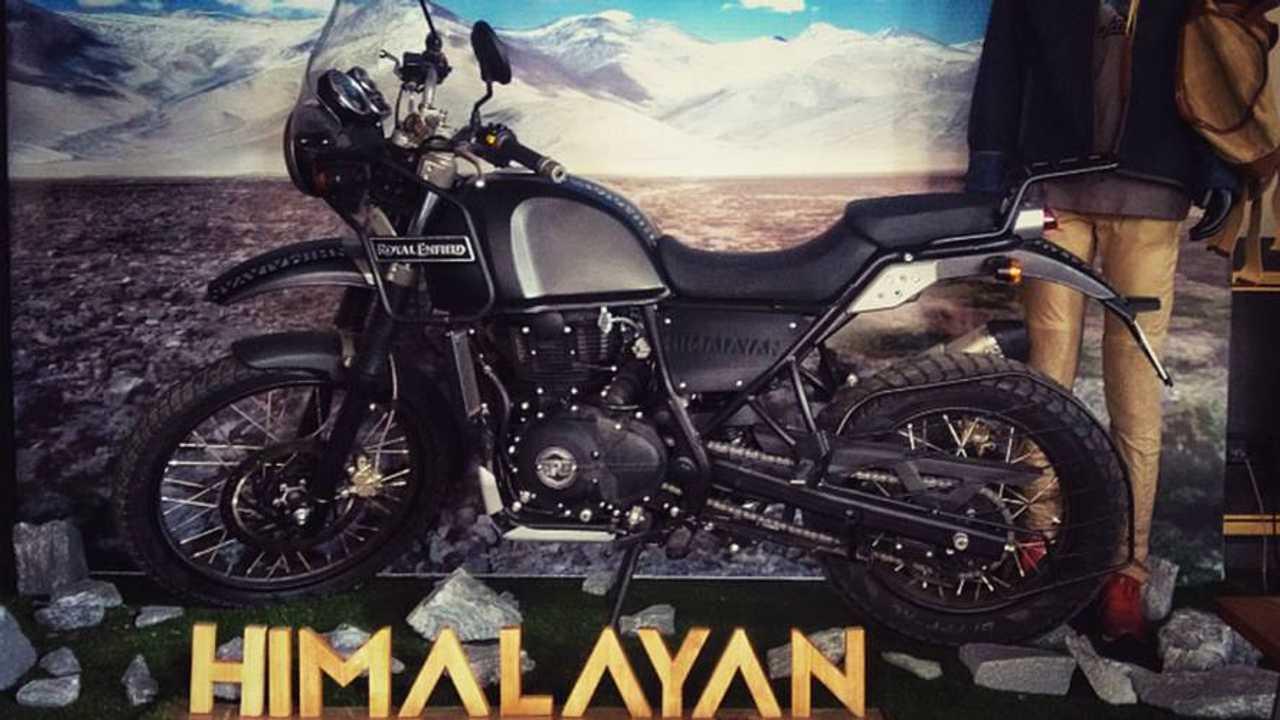 The Royal Enfield Himalayan Hits Showrooms - In India