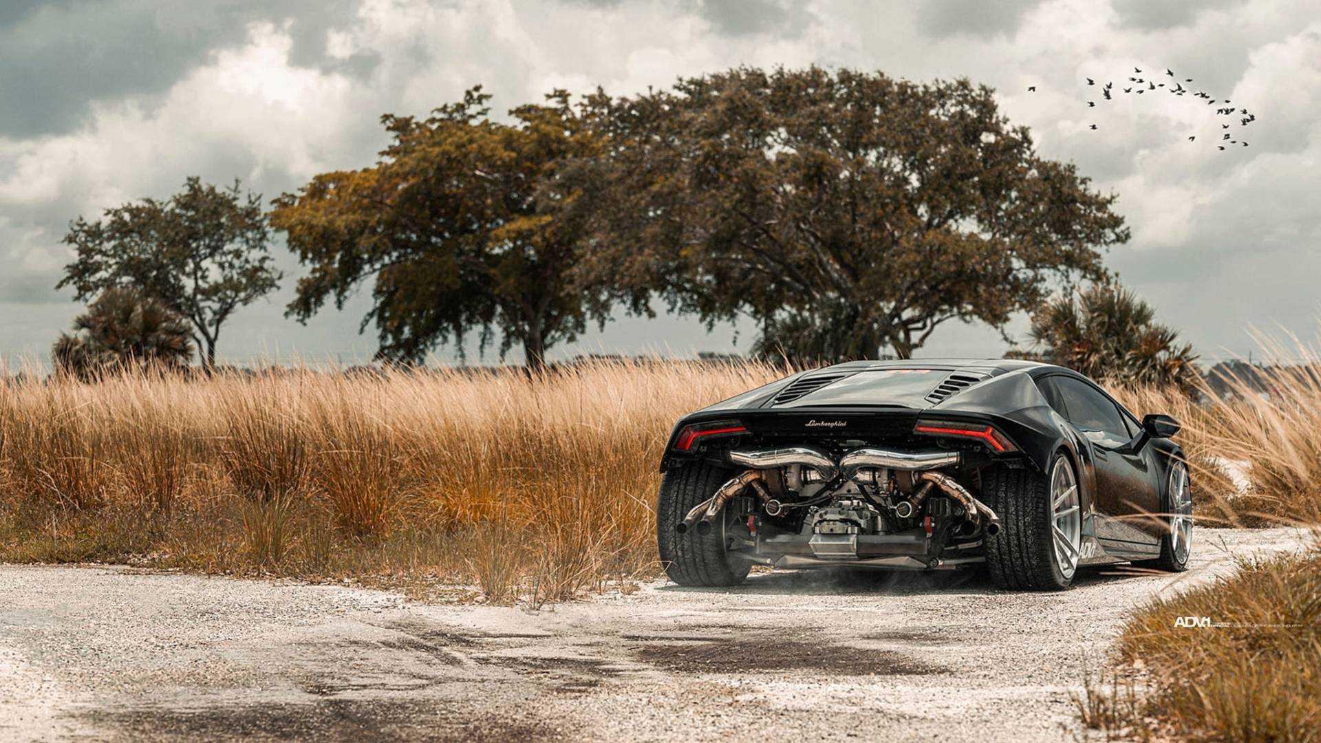 Biturbo Lamborghini Hurac 225 N Has 850 Hp And No Rear Bumper