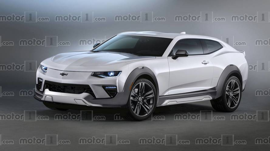 Chevy Camaro Electric SUV Rendering