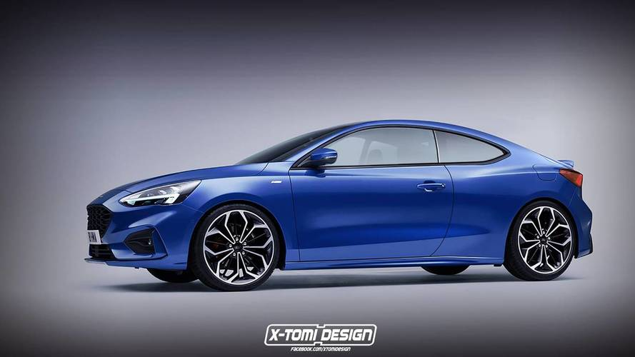 2019 Ford Focus Coupe Is Unfortunately Not Real