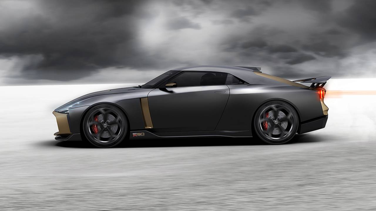 Nissan GTR 50 By Italdesign