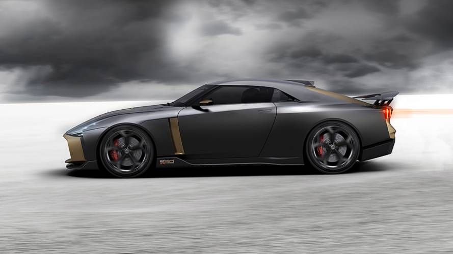 Nissan GT-R50 By Italdesign Will Make U.S. Debut On August 23