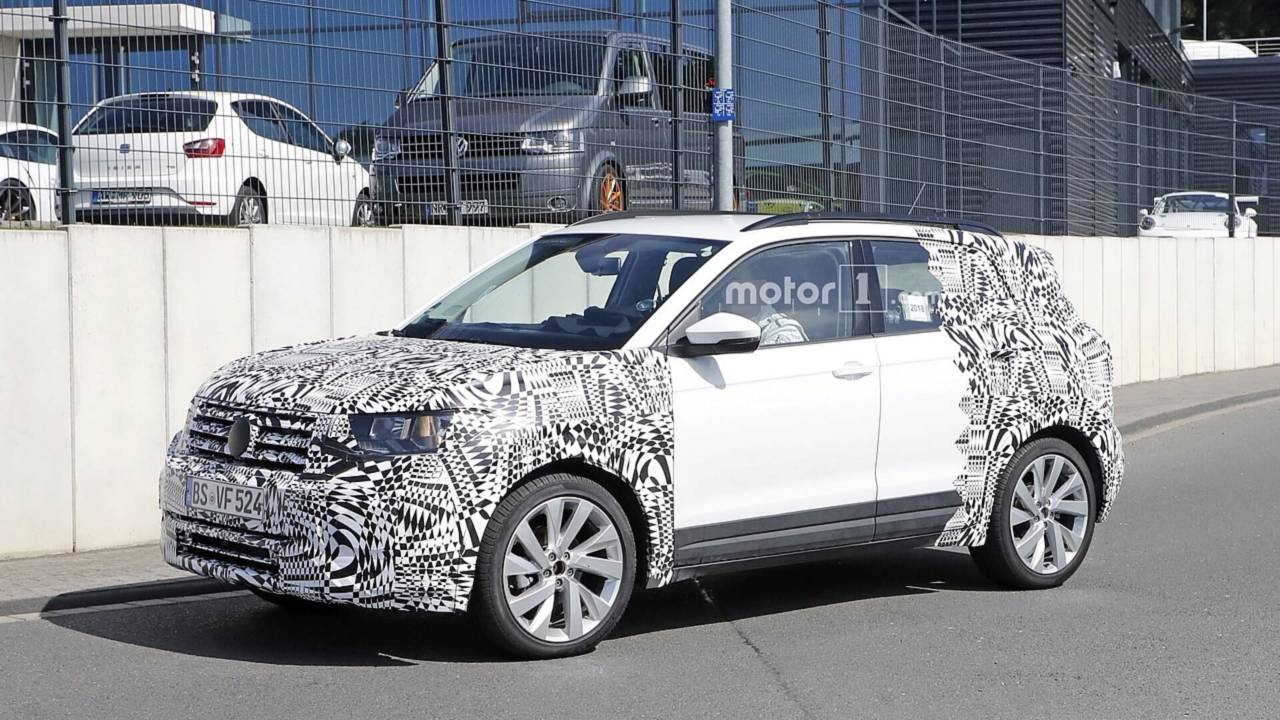2019 VW T-Cross spy photo
