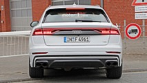 Audi SQ8 en photos espion