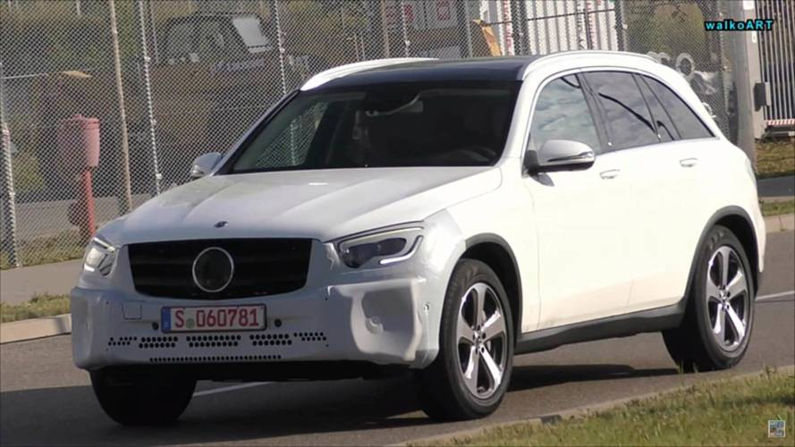 Mercedes GLC Facelift Caught On The Move With Very Little Camo
