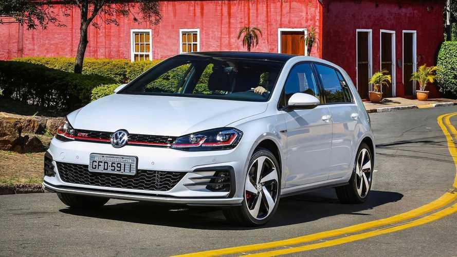 Vendas de hatches premium em maio: Golf fica atrás do Mini Cooper