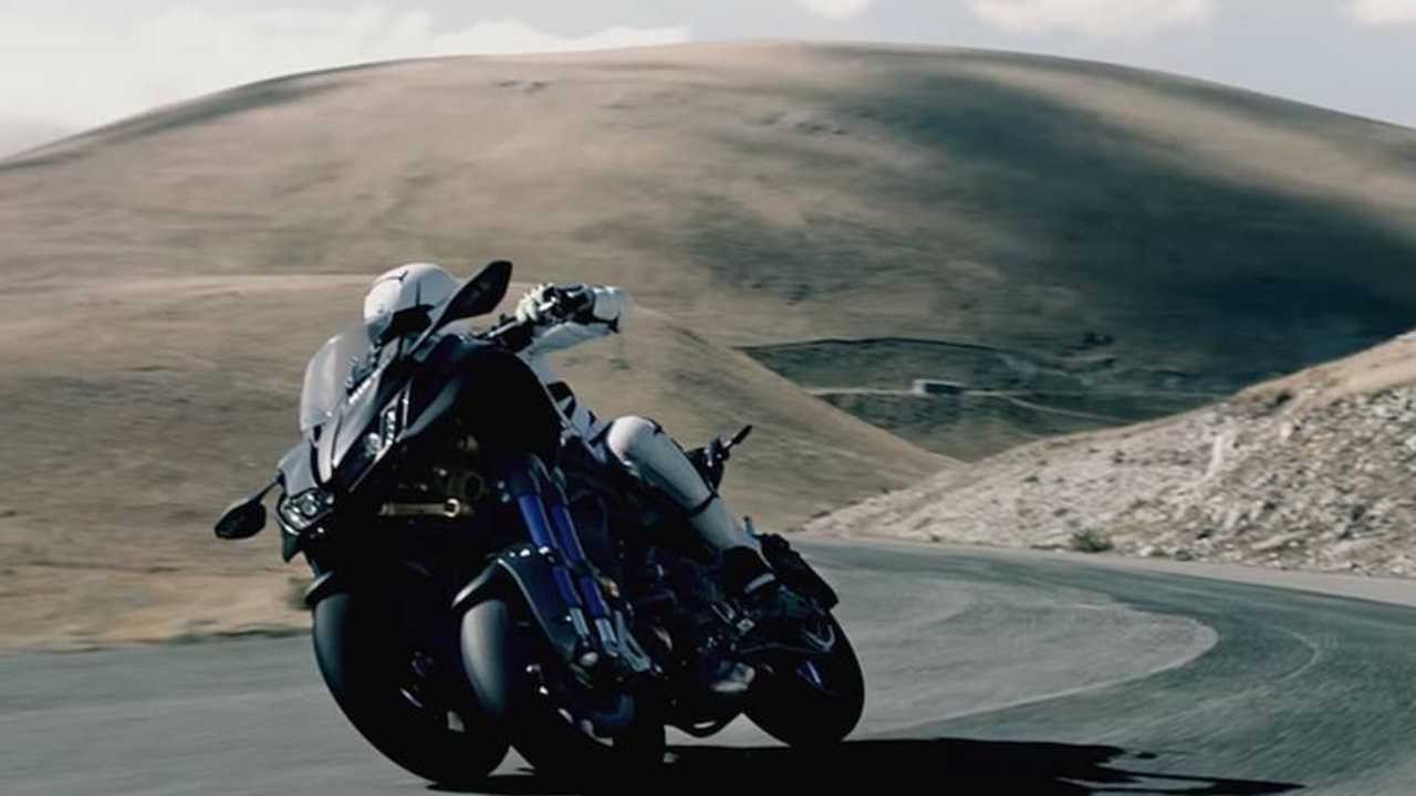 Stability Meet Accuracy - Yamaha Niken 3-Wheeler Shows Off