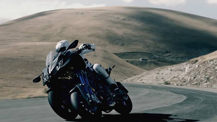 Stability Meet Accuracy - Yamaha Niken 3-Wheeler Shows Off