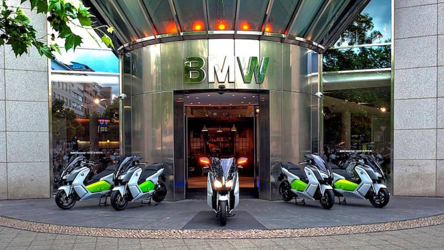 BMW Explores Scooter Rideshare-Rental Program