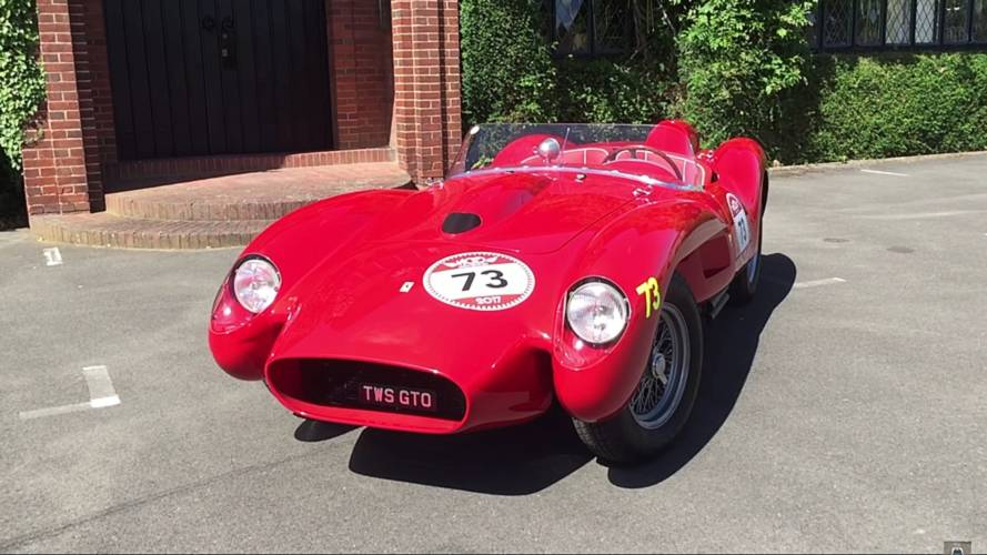Take rare shotgun ride in Ferrari 250 Testa Rossa