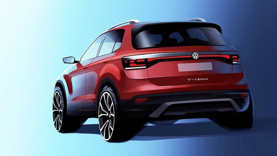 2019 VW T-Cross teased for the first time
