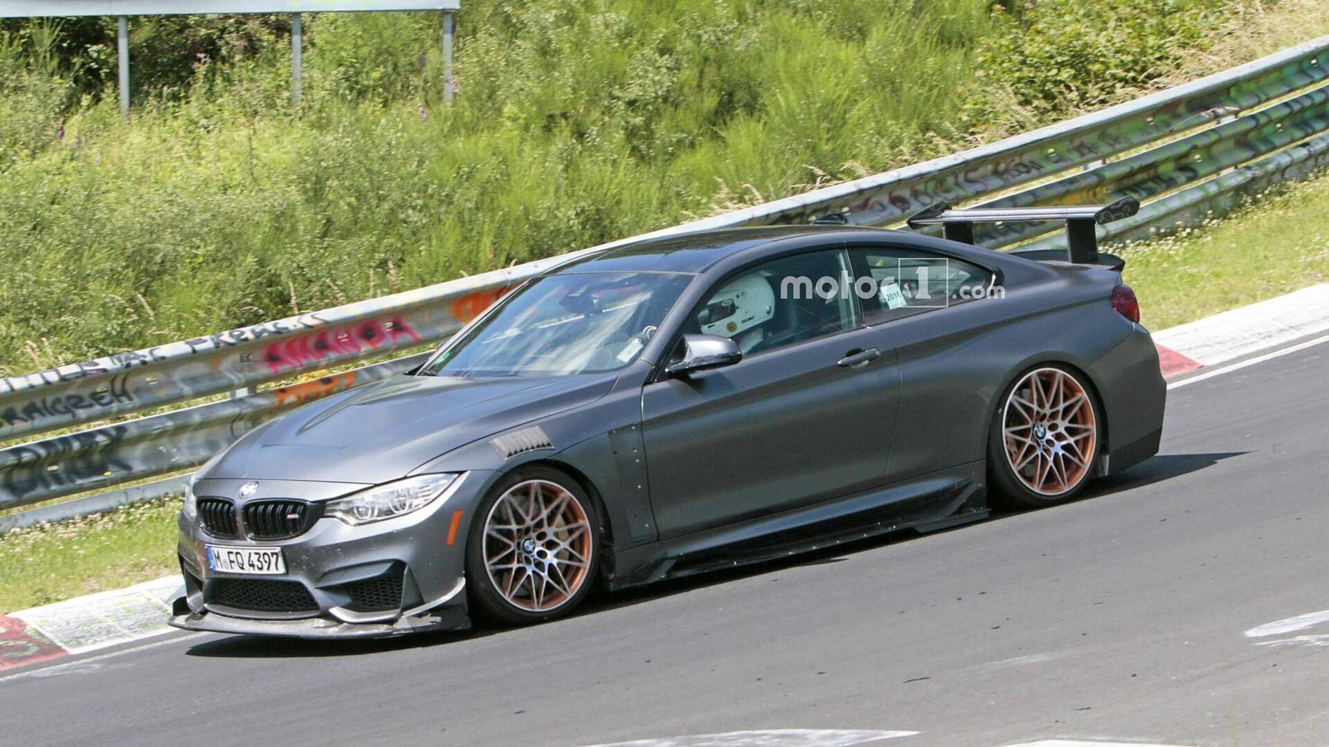 Bmw M4 Gts Spied Testing With Extreme Aero Kit Update