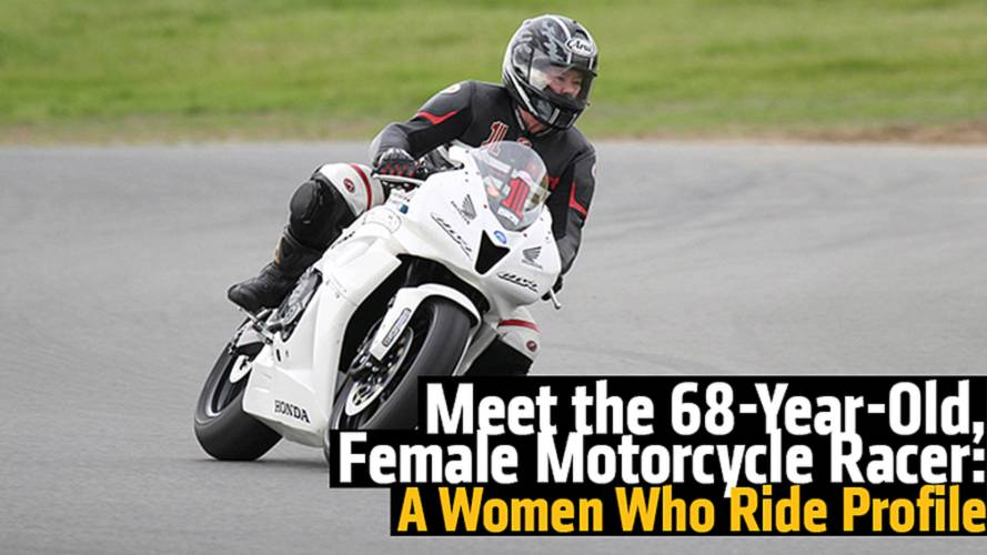 Meet the 68-Year-Old, Female Motorcycle Racer: A Women Who Ride Profile