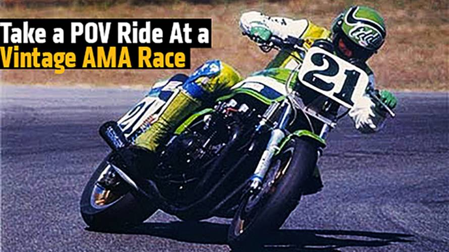 Take a POV Ride At a Vintage AMA SuperBike Race at Laguna Seca