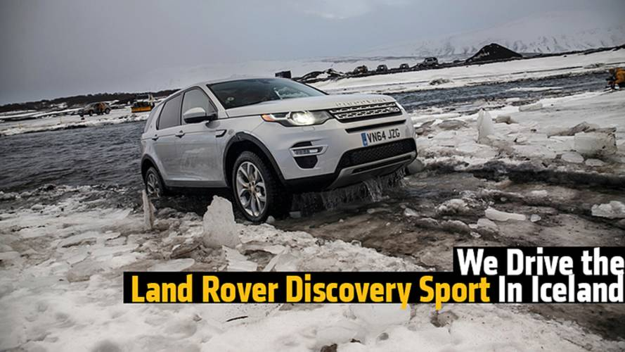 We Drive the Land Rover Discovery Sport In Iceland