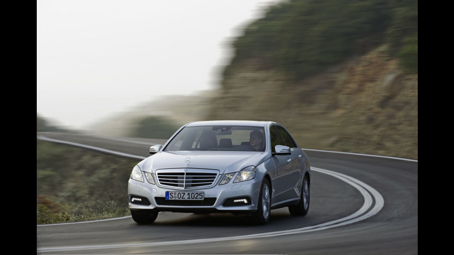 Nuove Mercedes E200 CDI e CGI BlueEfficiency