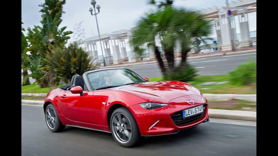 Nuova Mazda MX-5, piccola e leggera come la prima