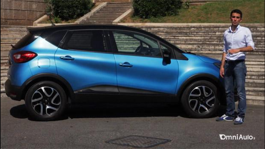 Renault Captur 1.5 dCi, prova su strada [VIDEO]