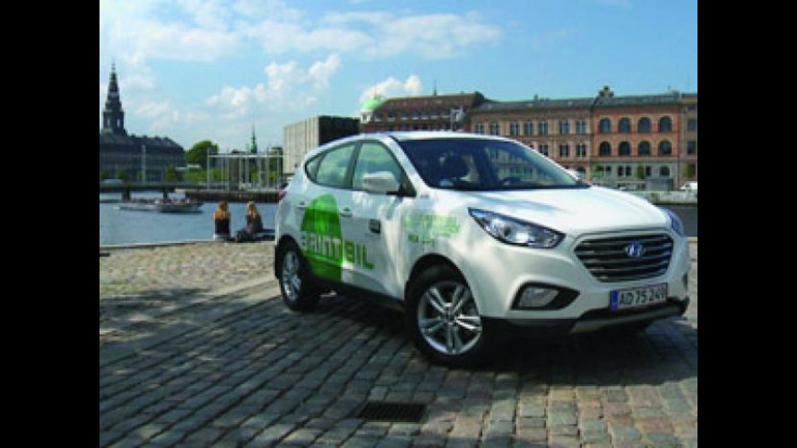 Hyundai ix35 Fuel Cell Electric Vehicle sbarca a Copenaghen